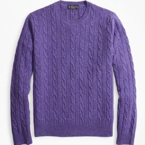 《 Brooks Brothers 》 Cable Knit Sweater
